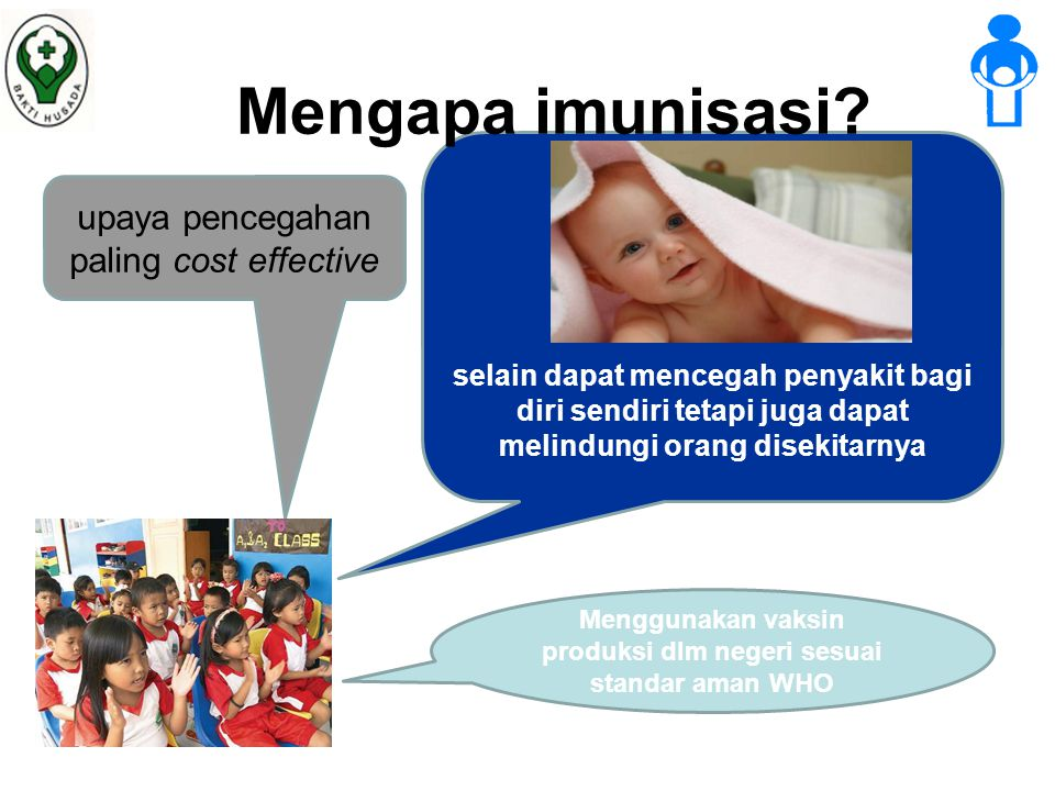 Mengapa imunisasi upaya pencegahan paling cost effective