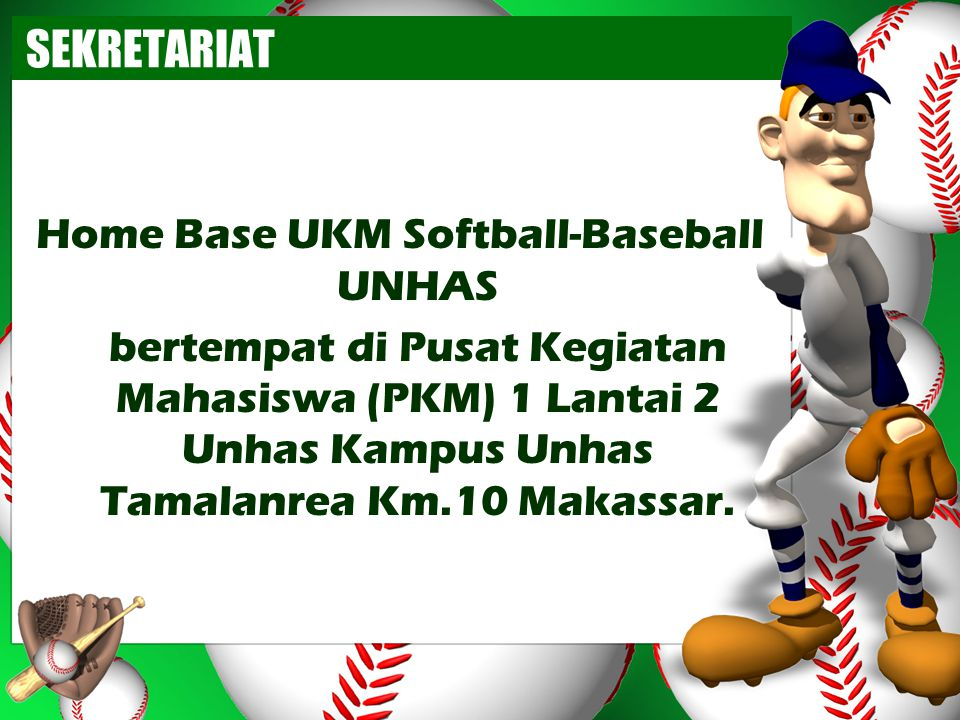 Home Base UKM Softball-Baseball UNHAS