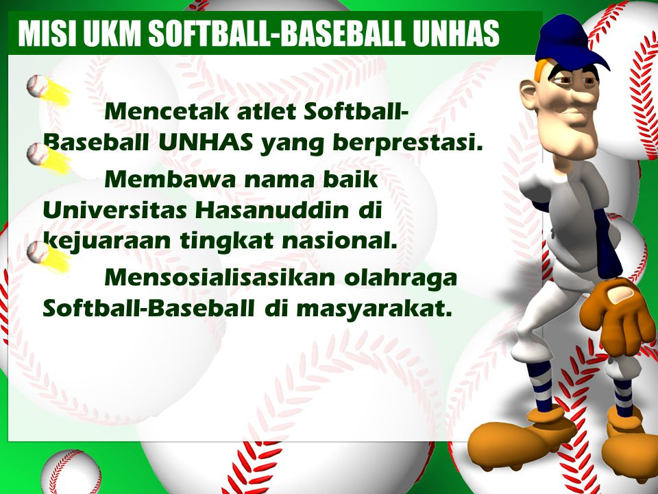 MISI UKM SOFTBALL-BASEBALL UNHAS