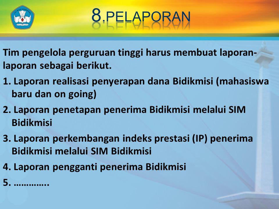 8.peLAPORAN