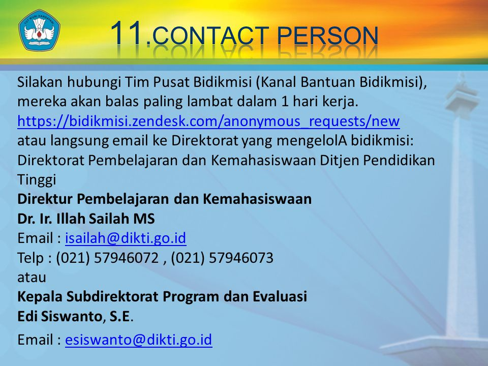 11.CONTACT PERSON