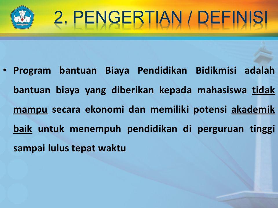 2. pengertian / definisi