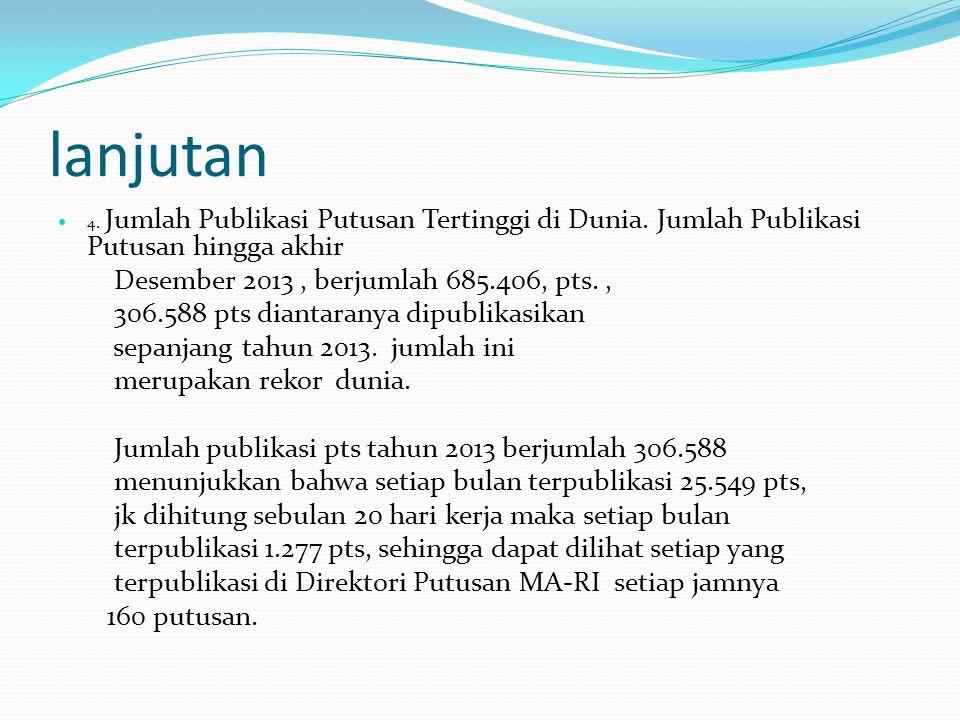 lanjutan Desember 2013 , berjumlah 685.406, pts. ,