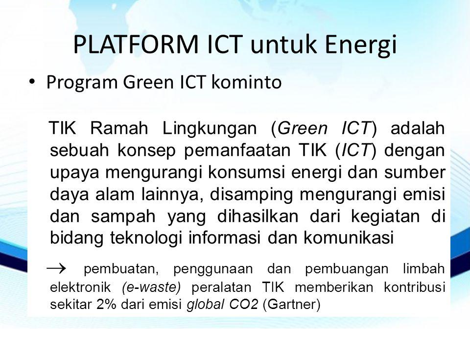 PLATFORM ICT untuk Energi