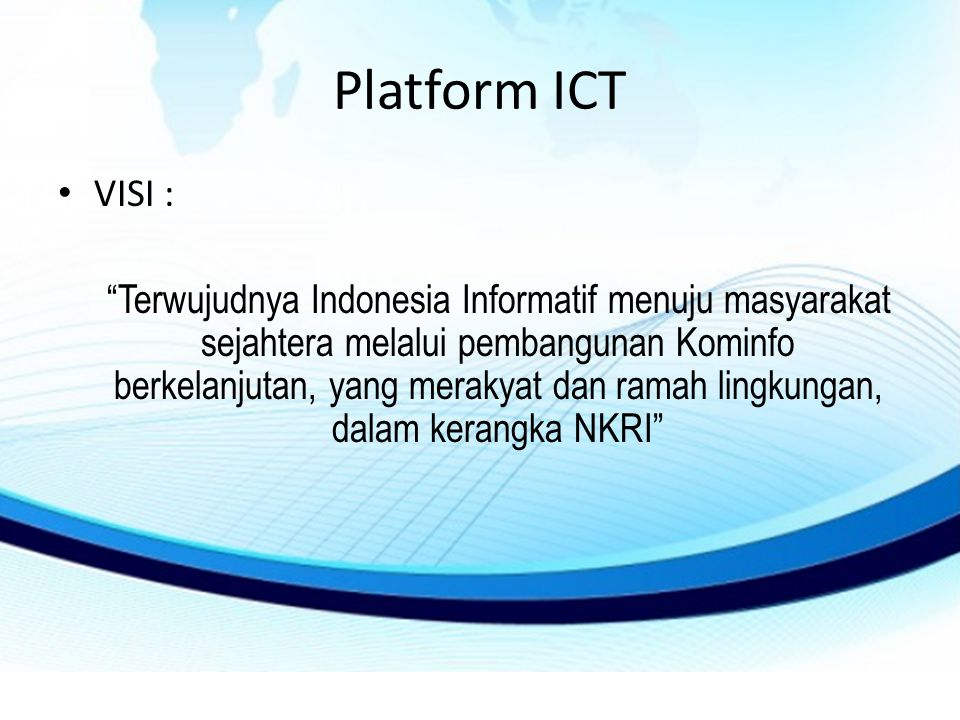 Platform ICT VISI :