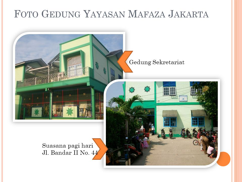 Foto Gedung Yayasan Mafaza Jakarta