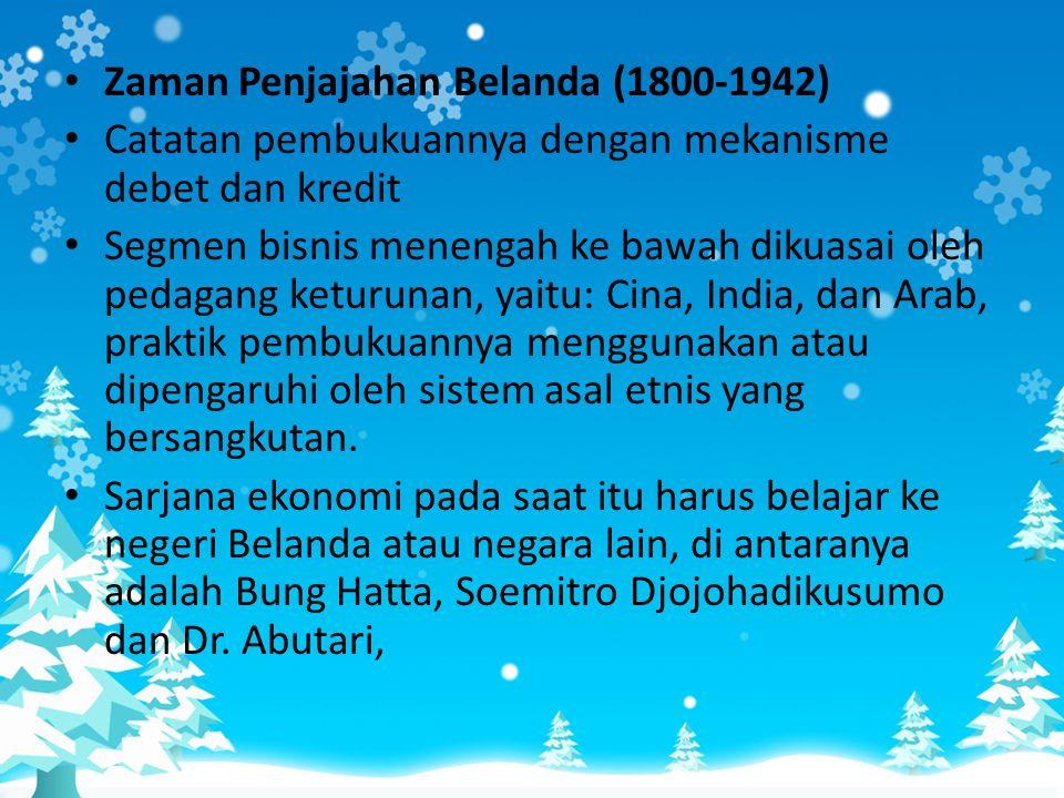 Zaman Penjajahan Belanda (1800-1942)