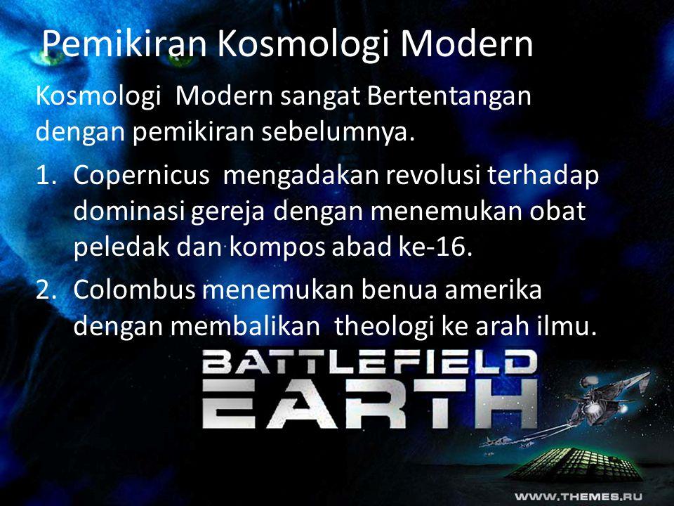 Pemikiran Kosmologi Modern