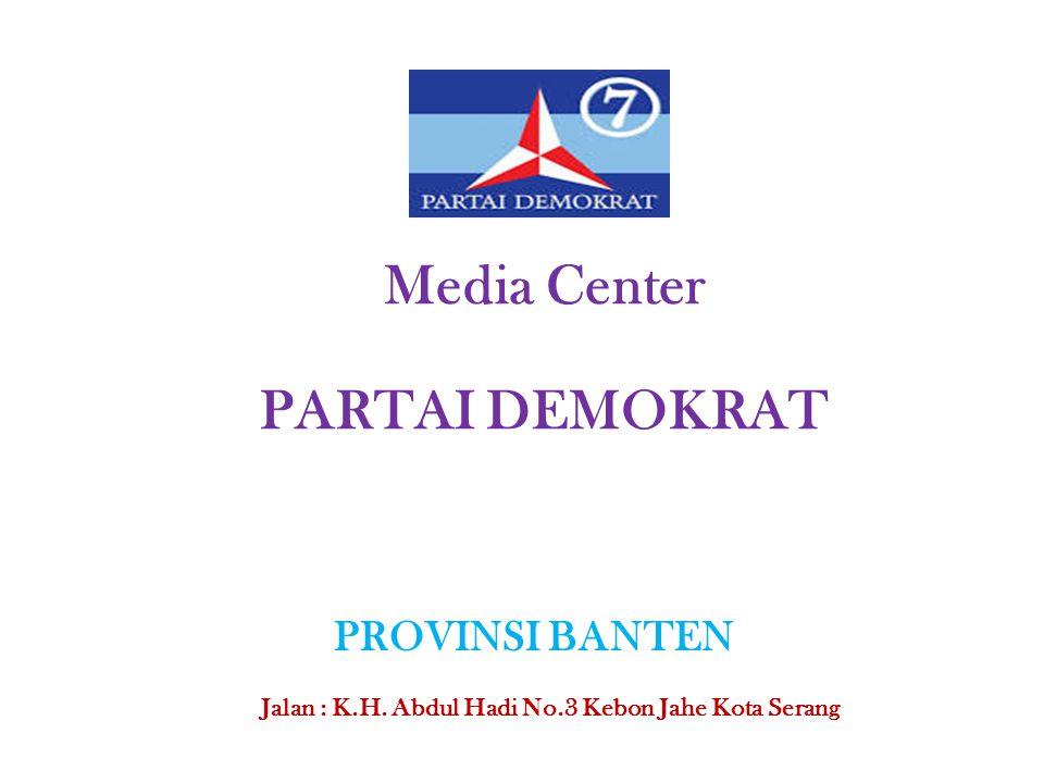 Media Center PARTAI DEMOKRAT