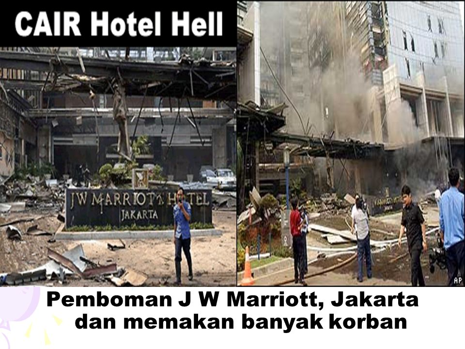 Pemboman J W Marriott, Jakarta dan memakan banyak korban