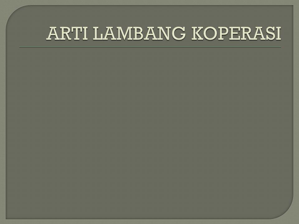 ARTI LAMBANG KOPERASI