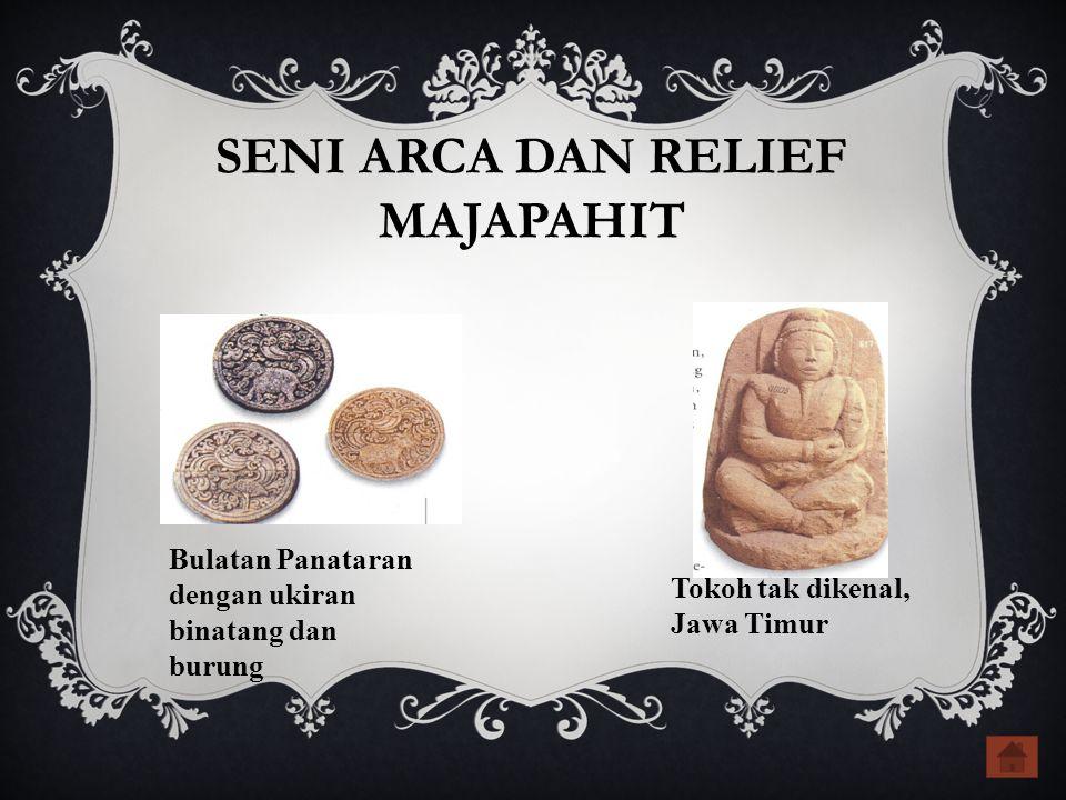 SENI ARCA DAN RELIEF MAJAPAHIT