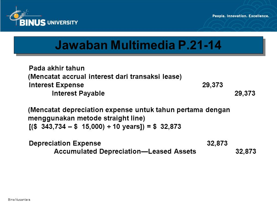 Jawaban Multimedia P.21-14 Pada akhir tahun