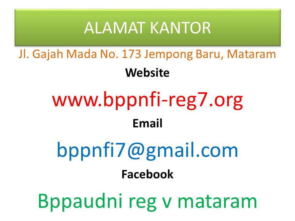 Jl. Gajah Mada No. 173 Jempong Baru, Mataram
