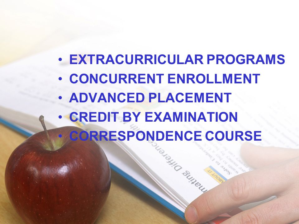 EXTRACURRICULAR PROGRAMS