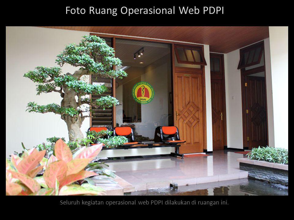 Foto Ruang Operasional Web PDPI