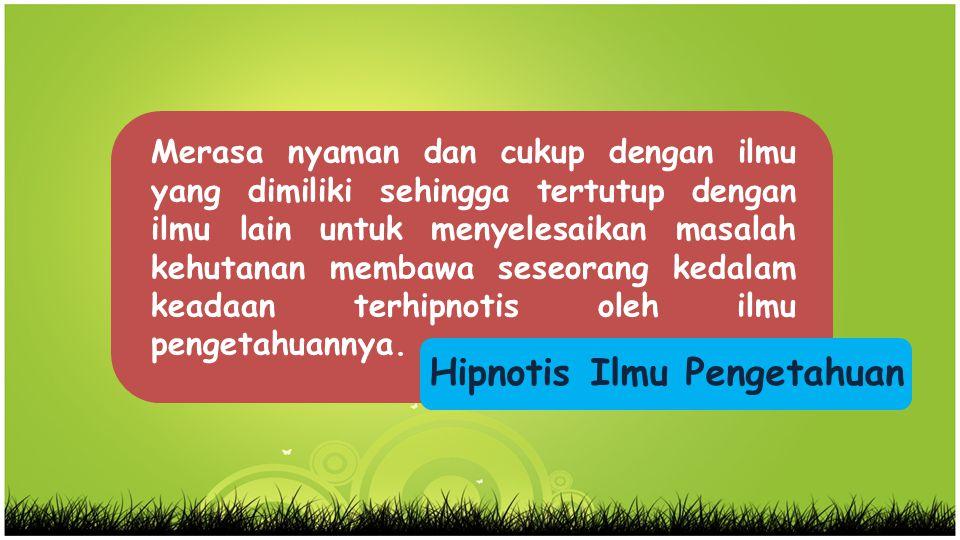 Hipnotis Ilmu Pengetahuan
