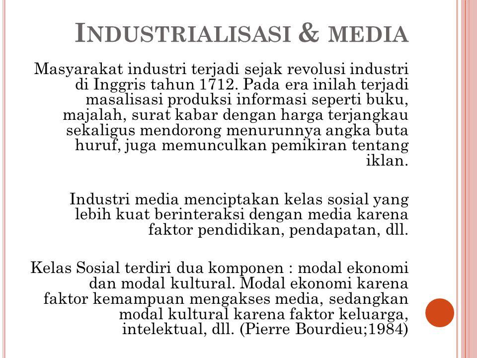 Industrialisasi & media