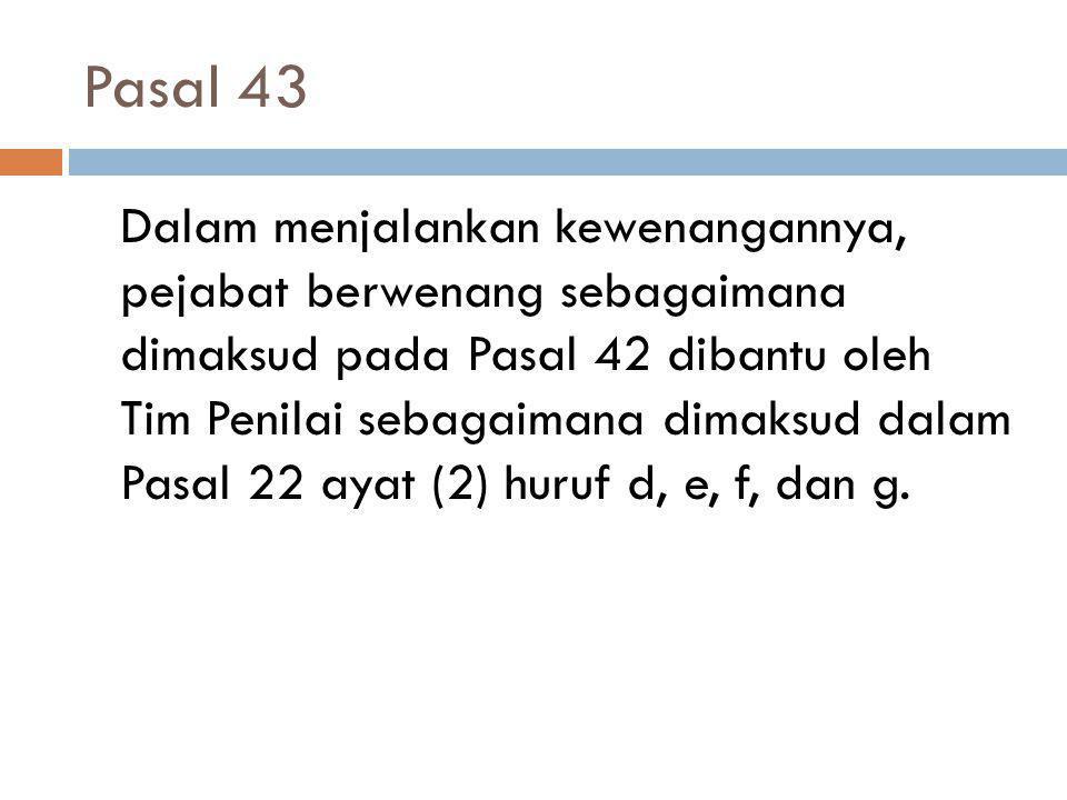Pasal 43
