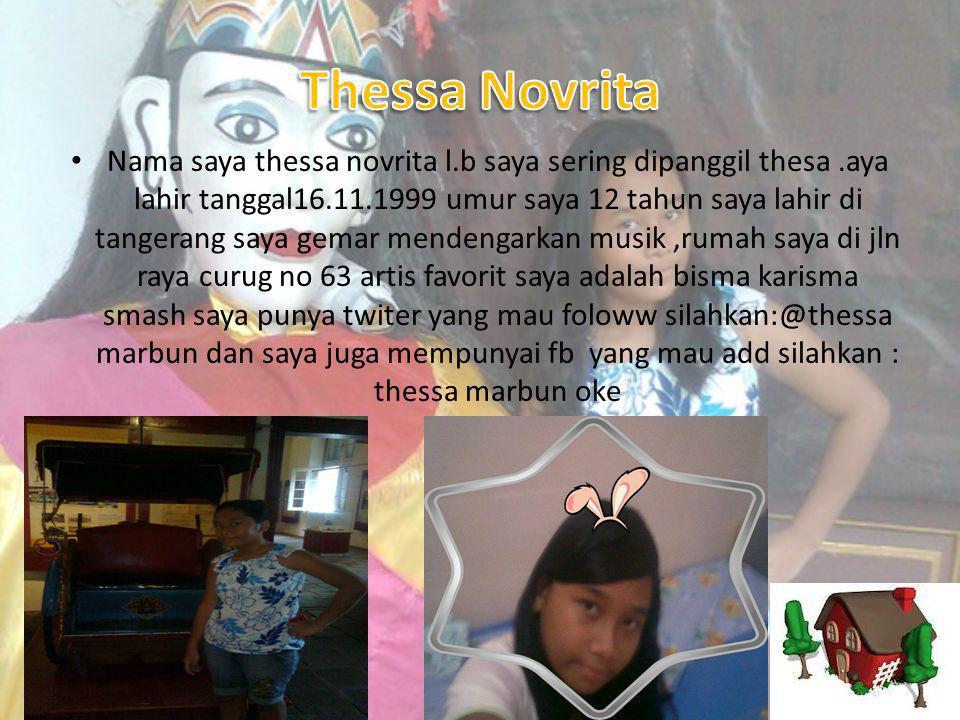 Thessa Novrita