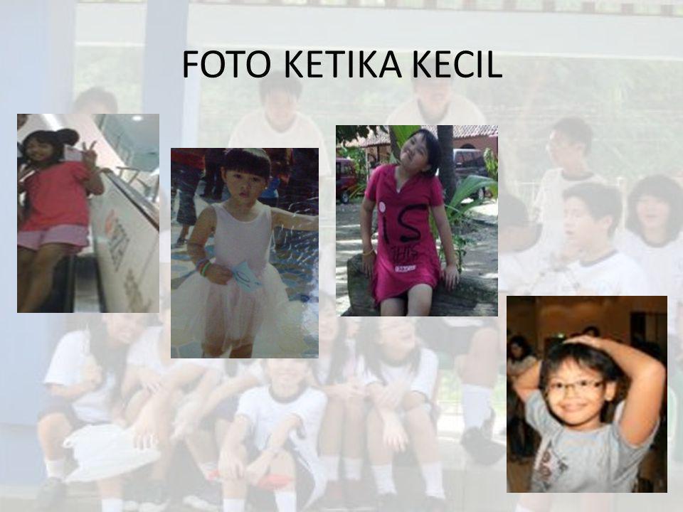 FOTO KETIKA KECIL
