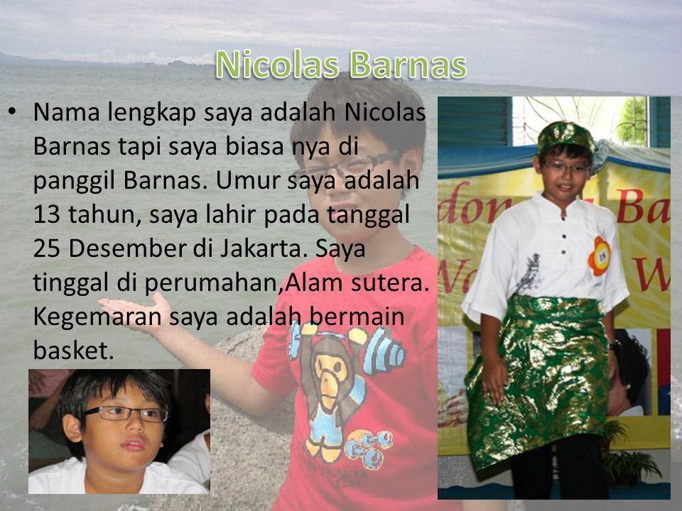 Nicolas Barnas
