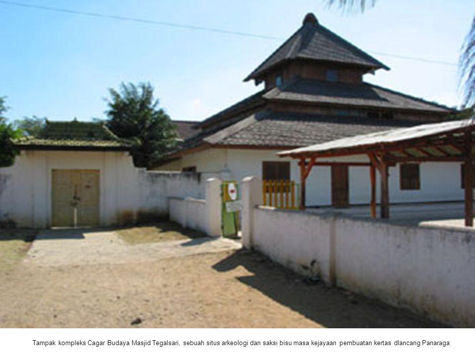 Tampak kompleks Cagar Budaya Masjid Tegalsari, sebuah situs arkeologi dan saksi bisu masa kejayaan pembuatan kertas dlancang Panaraga