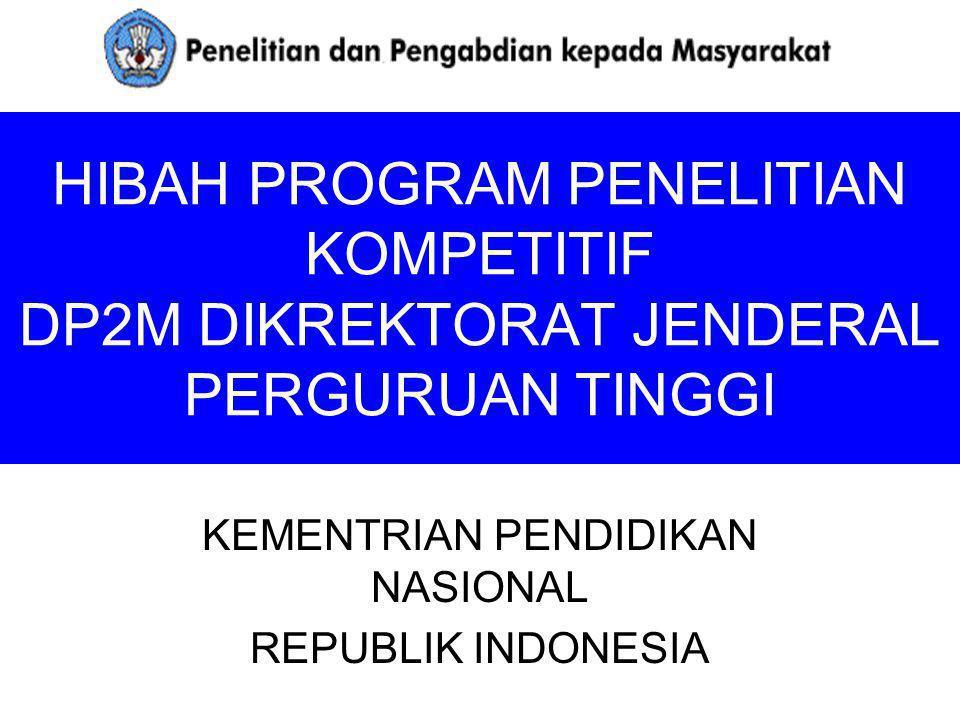 KEMENTRIAN PENDIDIKAN NASIONAL REPUBLIK INDONESIA