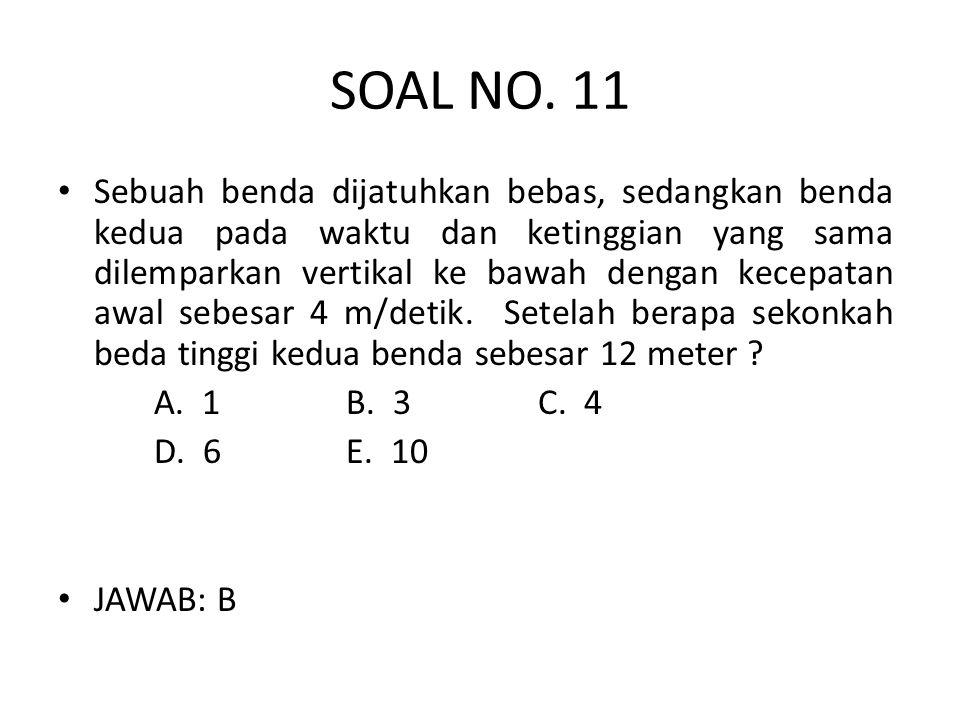 SOAL NO. 11