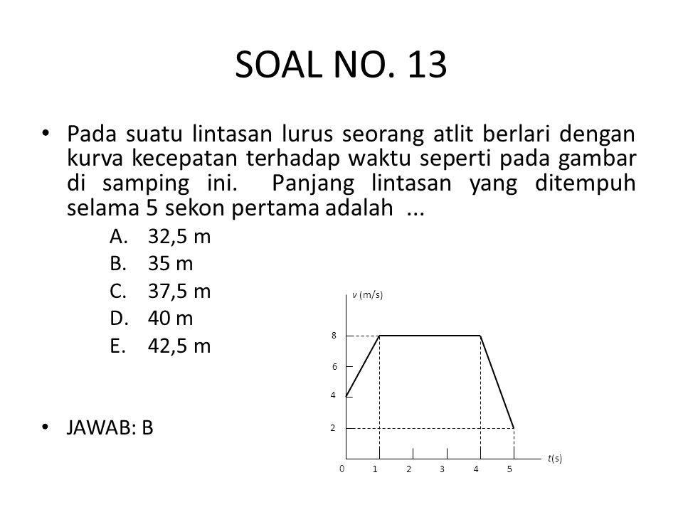 SOAL NO. 13