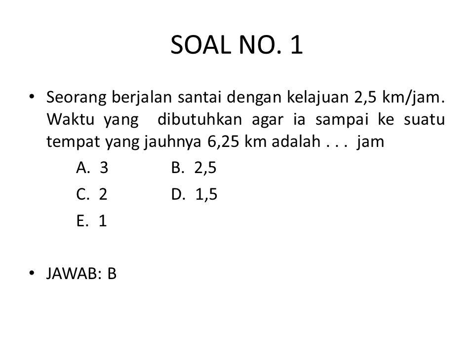 SOAL NO. 1
