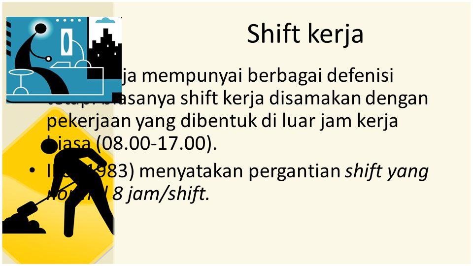 Shift kerja