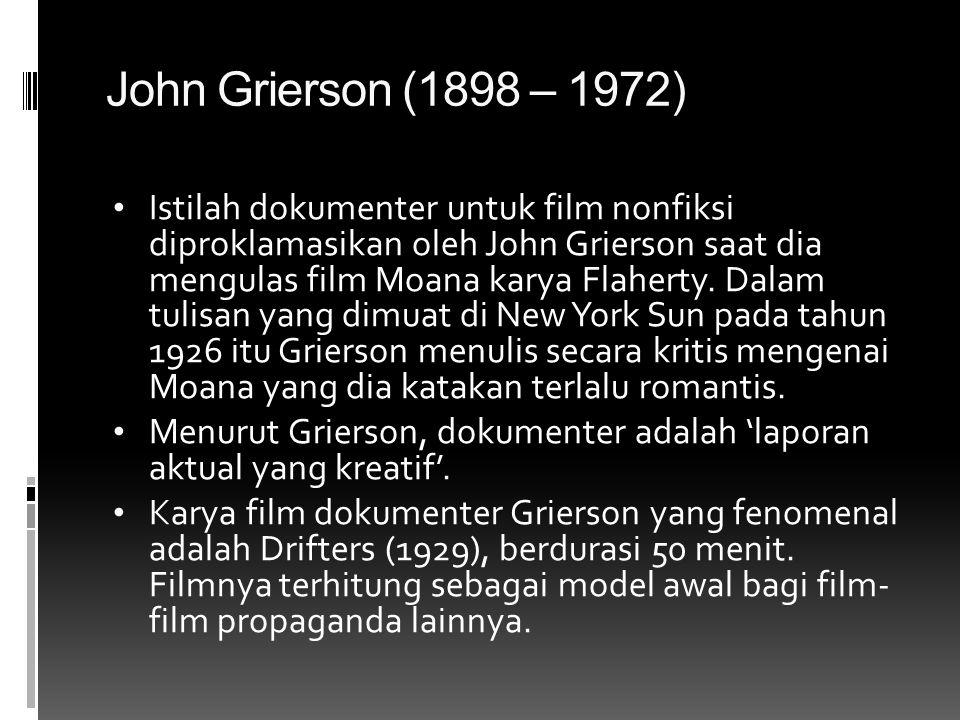 John Grierson (1898 – 1972)