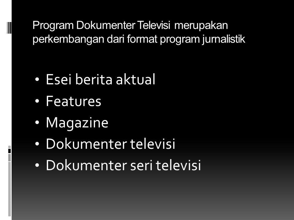 Dokumenter seri televisi