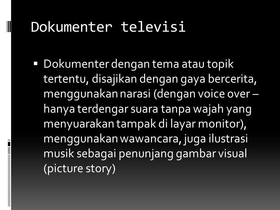 Dokumenter televisi