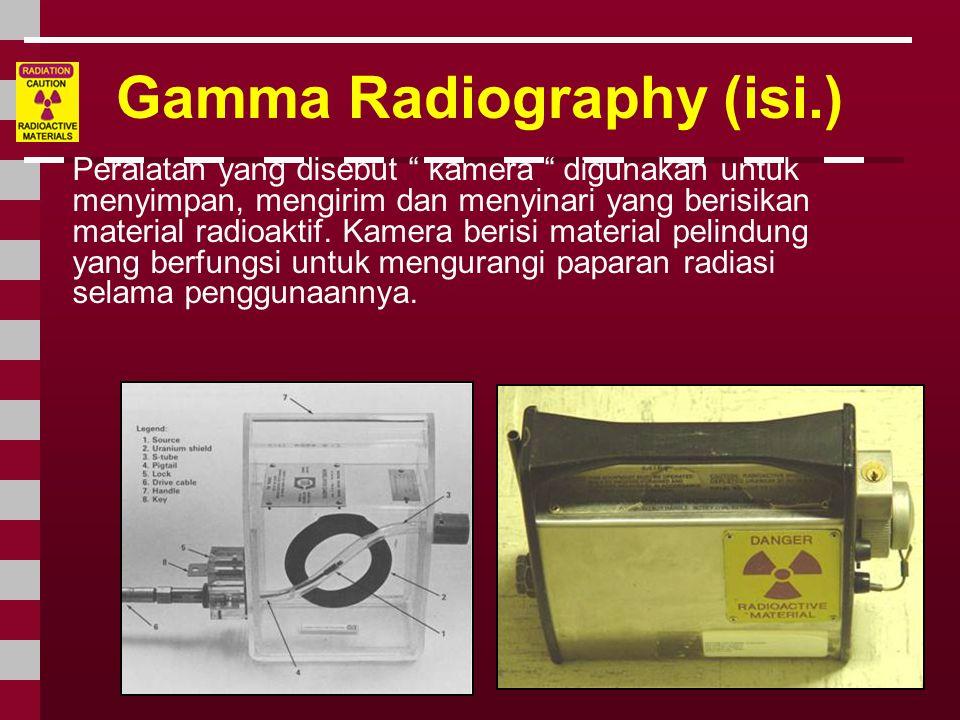 Gamma Radiography (isi.)