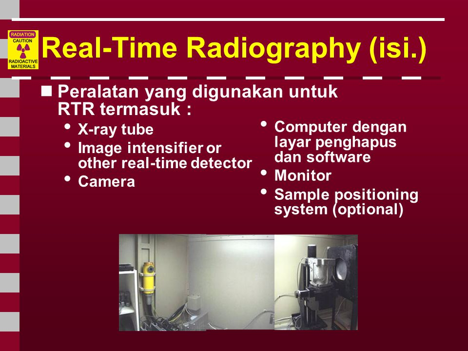 Real-Time Radiography (isi.)