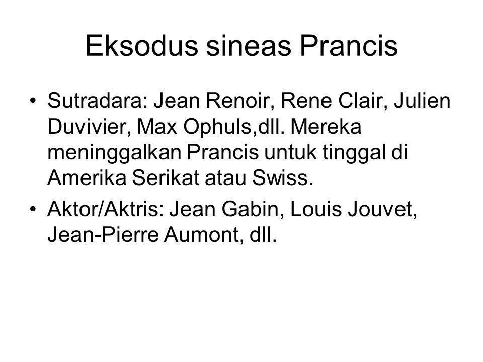 Eksodus sineas Prancis