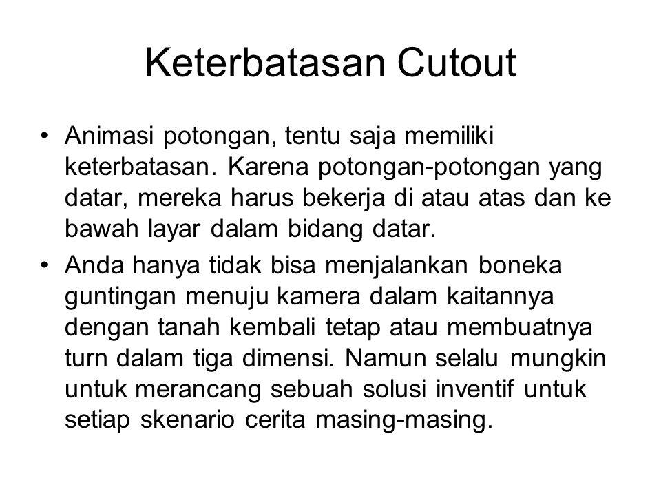 Keterbatasan Cutout