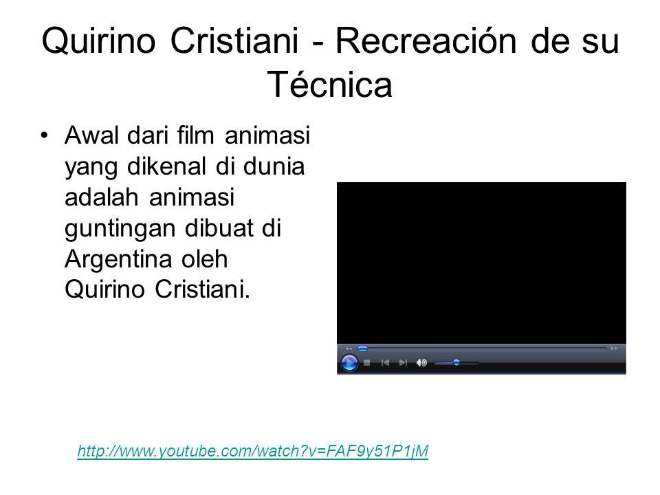 Quirino Cristiani - Recreación de su Técnica