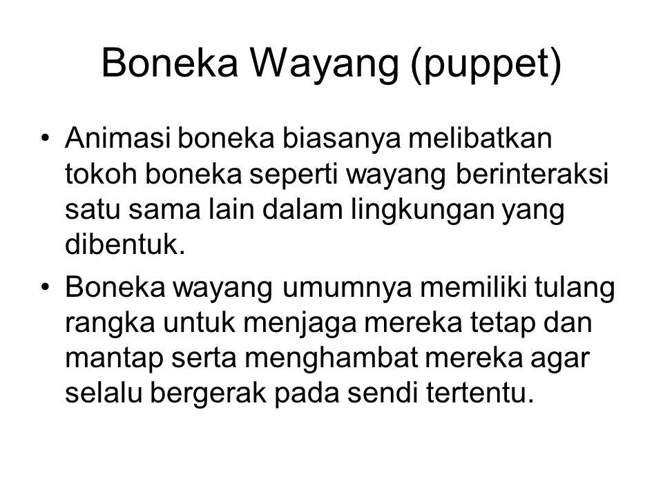 Boneka Wayang (puppet)