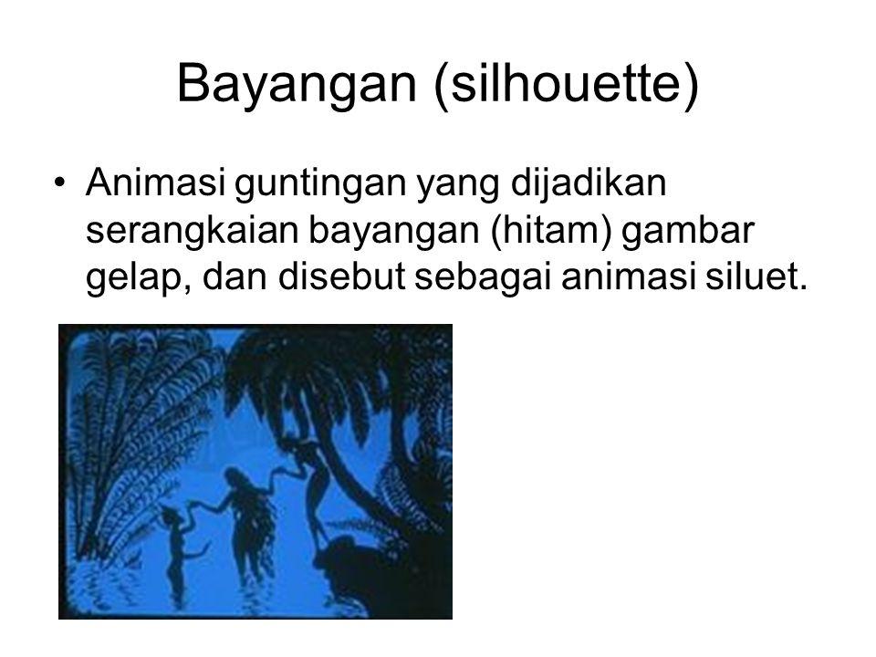 Bayangan (silhouette)