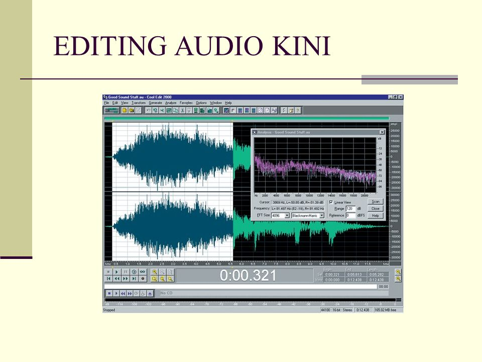 EDITING AUDIO KINI