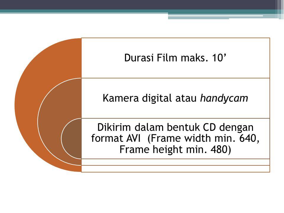 Kamera digital atau handycam