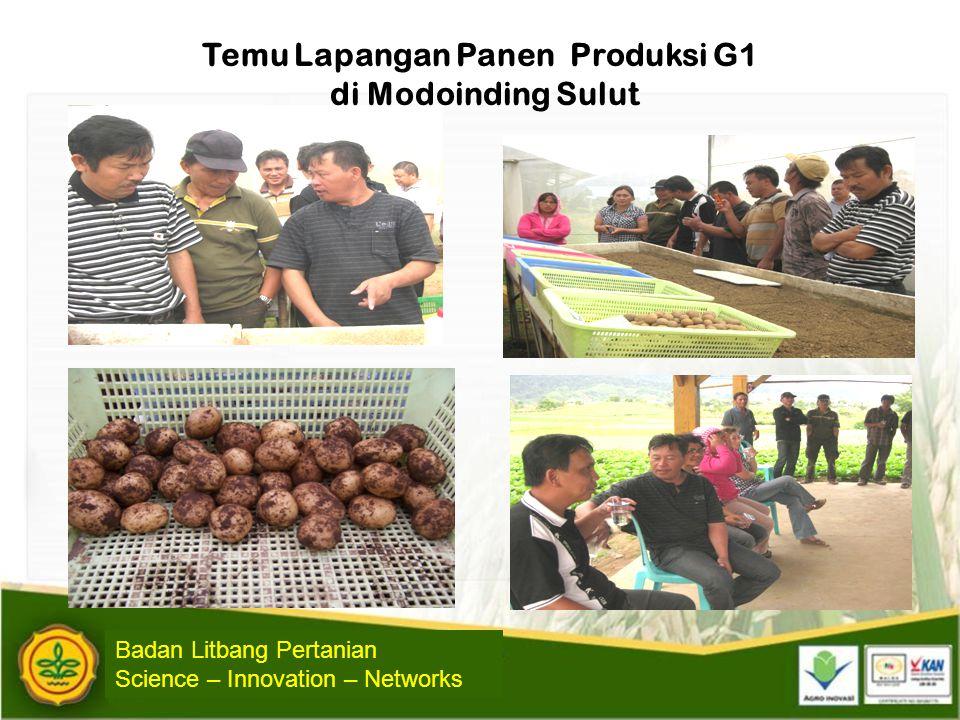 Temu Lapangan Panen Produksi G1