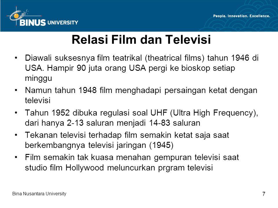 Relasi Film dan Televisi