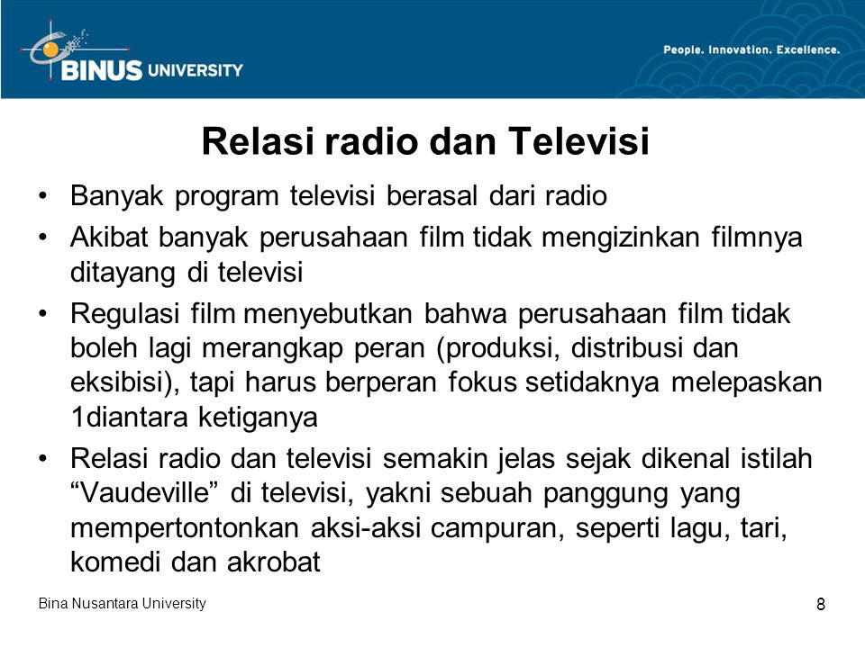 Relasi radio dan Televisi
