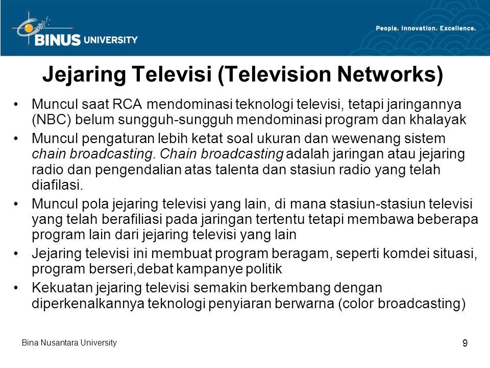 Jejaring Televisi (Television Networks)