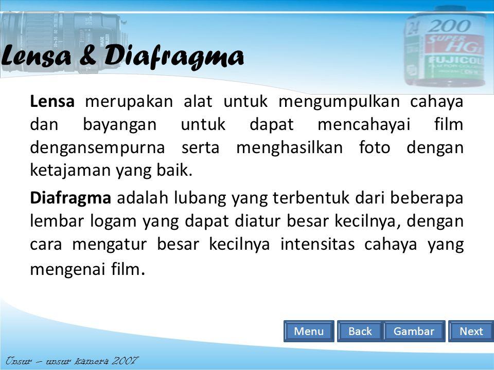 Lensa & Diafragma