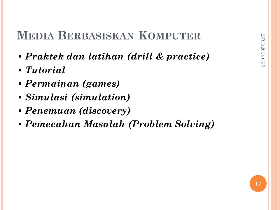 Media Berbasiskan Komputer
